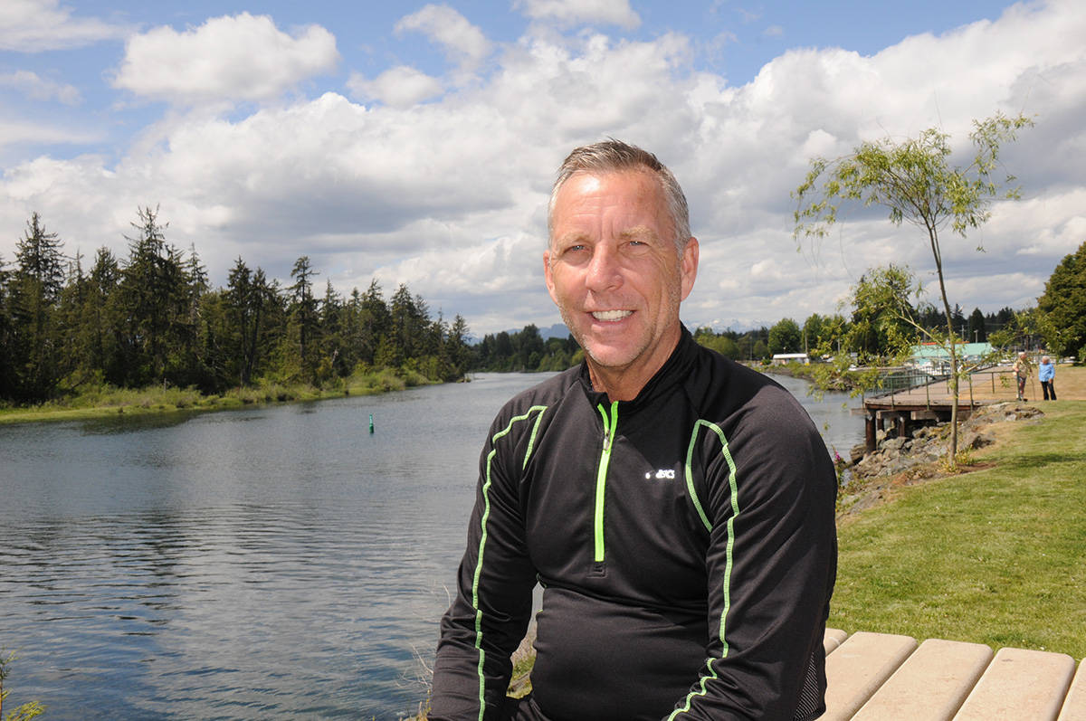 Rob Shick, who first started the Alberni Valley Charity Golf Classic, is happy to see it still continues after 25 years, and that it is still benefiting BC Children's Hospital. SUSAN QUINN PHOTO