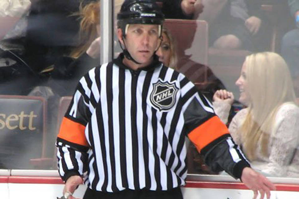 National Hockey League senior officiating manager Rob Shick, from Port Alberni, B.C., has been an NHL official in some capacity for 35 years. FILE PHOTO
