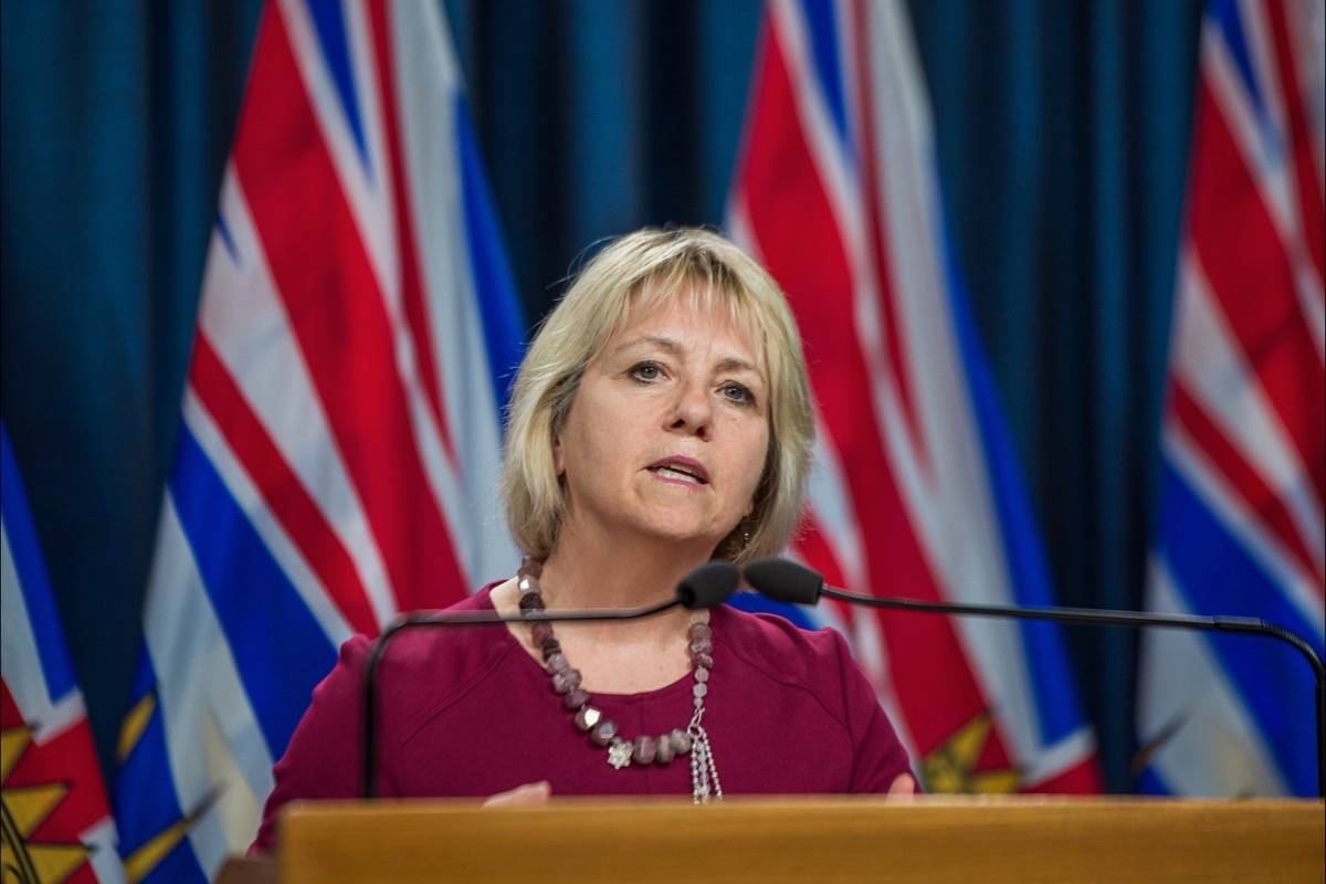 Provincial health officer Dr. Bonnie Henry updates COVID-19 situation in B.C., July 15, 2020. (B.C. government)
