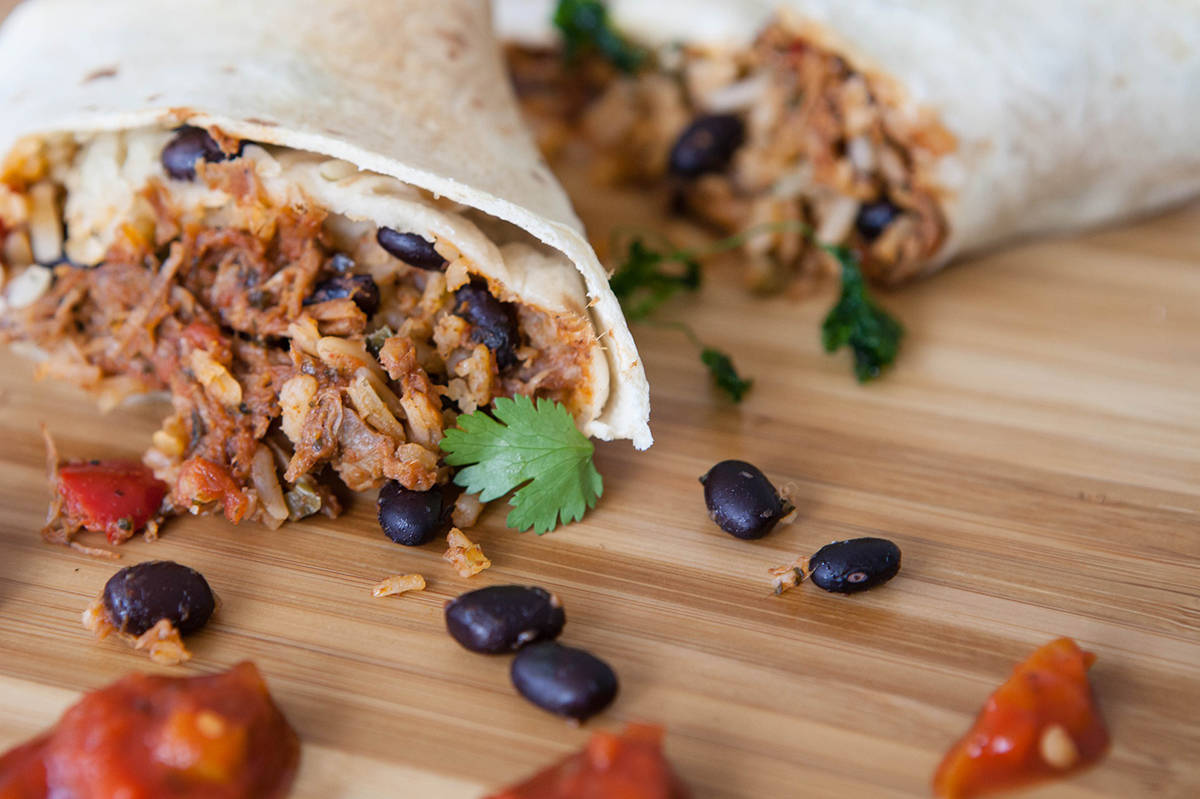 Burritos top the B.C. palate according to a trend report from DoorDash. (Pixabay)