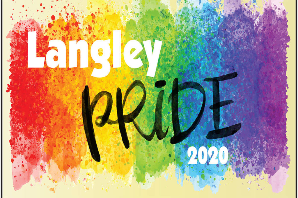 Posters are available for download on Langley Pride Fest's website to display on Aug. 7 and 8. (Langley Pride/Special to the Langley Advance Times)