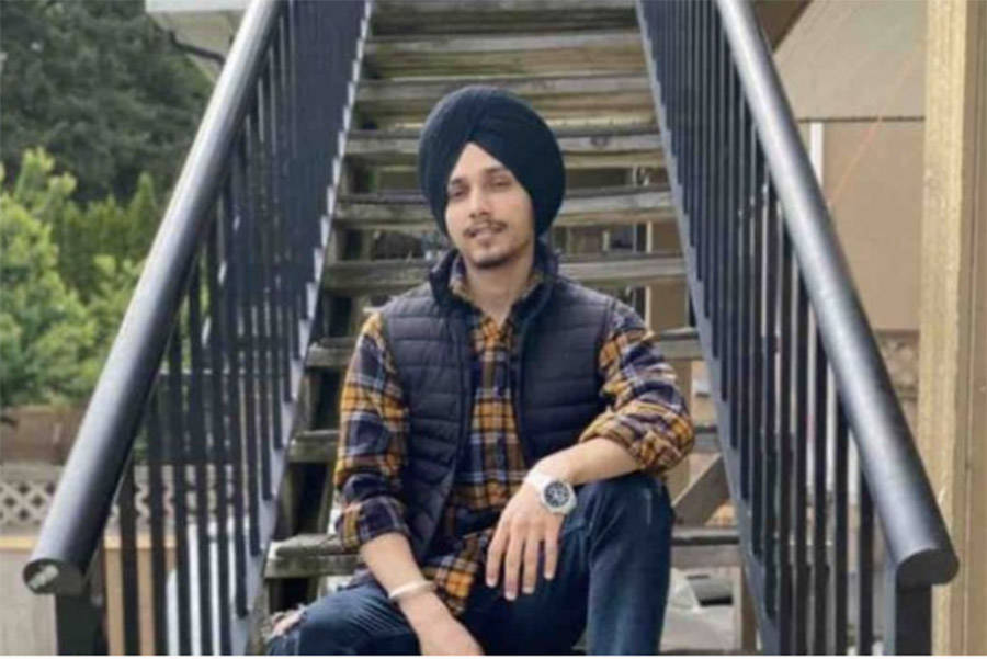 Manpreet Singh, 22, died on Saturday, July 25, 2020 when he drowned in Cultus Lake. His family is now raising money to send his body back home to India. (GoFundMe/ Chilliwack Progress)