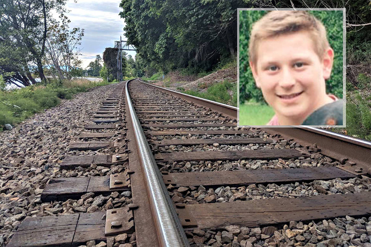 South Surrey teen Jack Stroud, 15, died July 4, 2018 after he was struck by a train on Crescent Beach tracks. (File photo/Facebook photo)