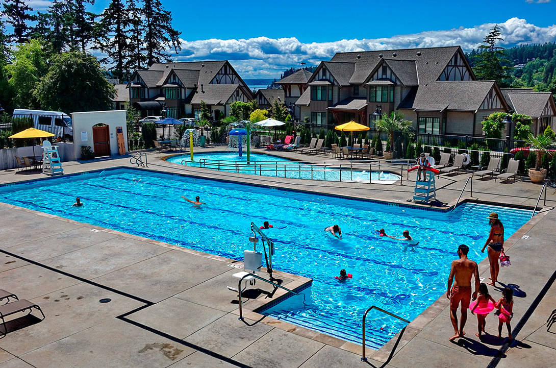 BC Hydro survey finds that most British Columbians overestimate their swimming abilities. (Photo courtesy of Jeanne Hasenmiller)