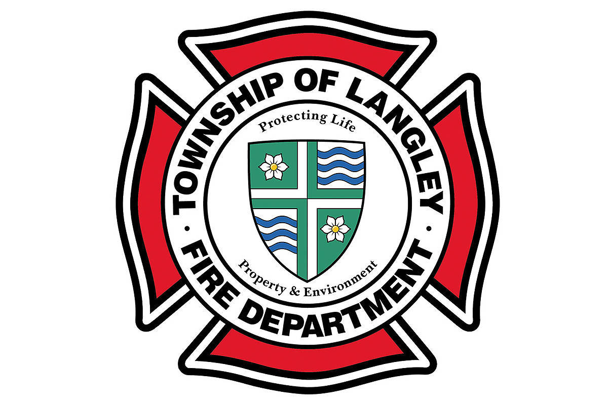 Township fire crews are dealing with a barn fire at 7307 Telegraph Trail in Fort Langley. (Langley Advance Times files)