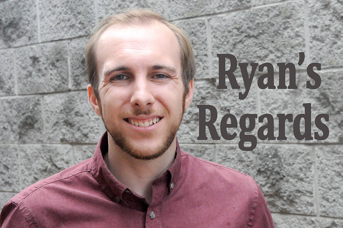 Ryan Uytdewilligen invites your feedback to his bi-weekly column. Ryan is a reporter with the Langley Advance Times. (Advance Times files)