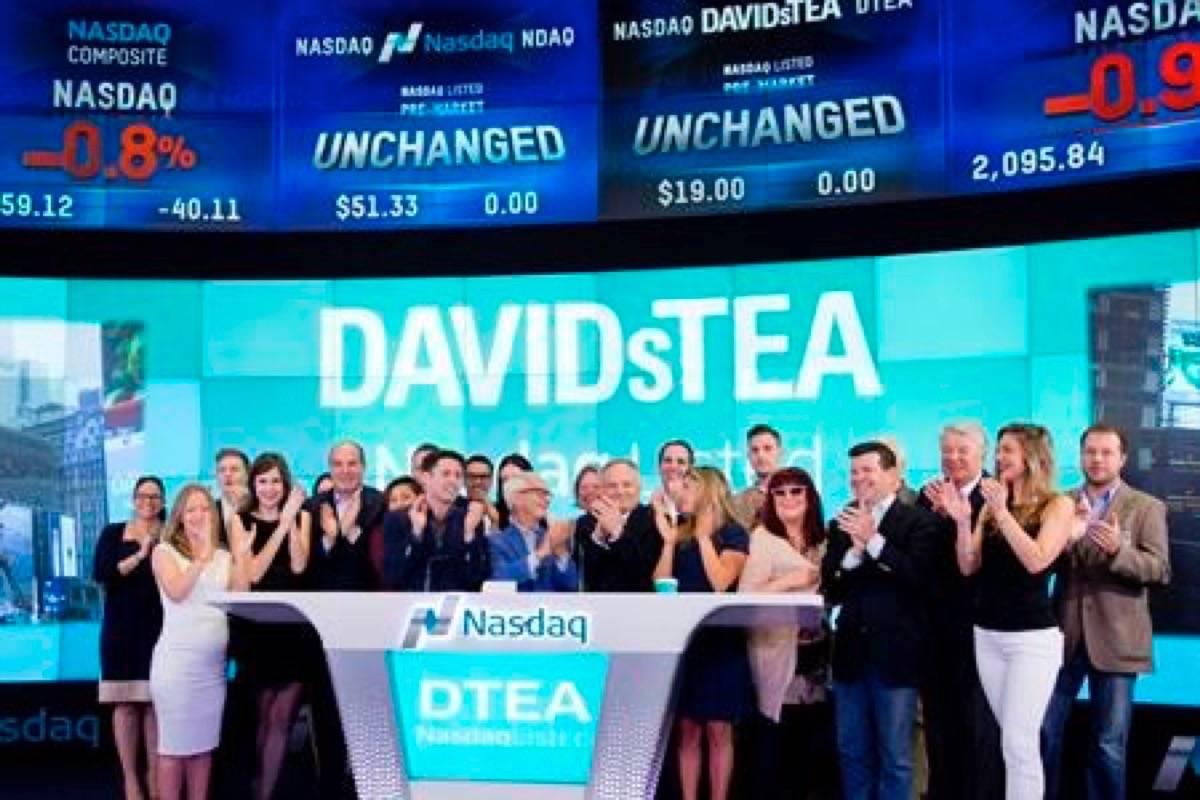 Canadian company DAVIDsTEA is closing its Langley store. (Photo by THE CANADIAN PRESS)