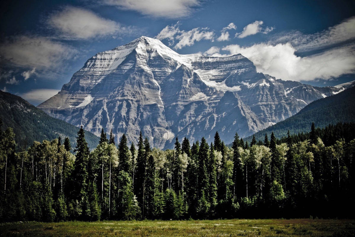 British Columbia claims some of the most beautiful scenery in the world. Do you know the name of the highest mountain entirely within British Columbia? (Pixabay)