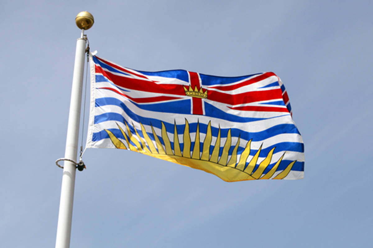The British Columbia flag is a distinctive image in this province. When was this flag adopted? (Black Press file photo)