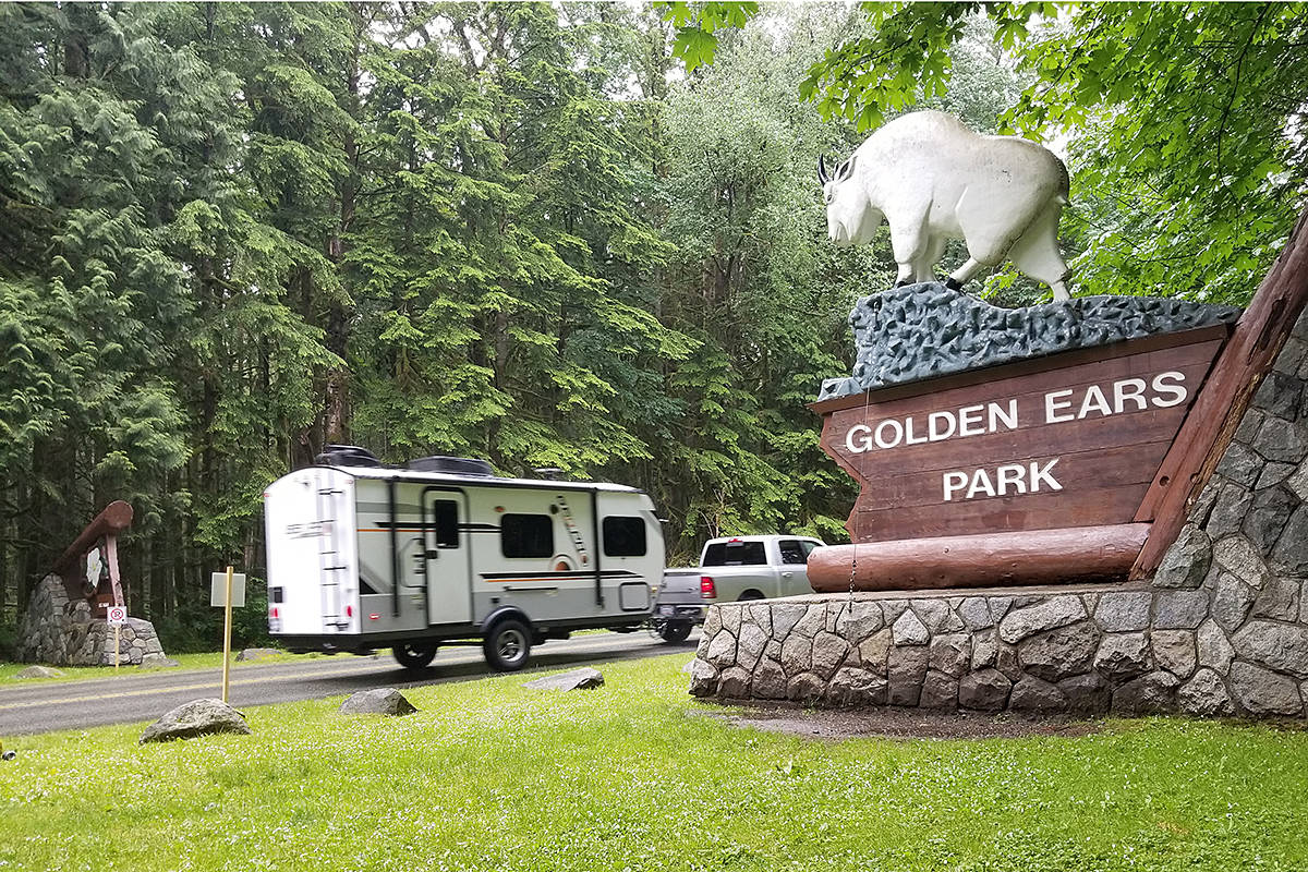 Golden Ears provincial park was closed to traffic Sunday morning Aug. 2, 2020 due to what RCMP called a 'medical incident' (Maple Ridge News file)