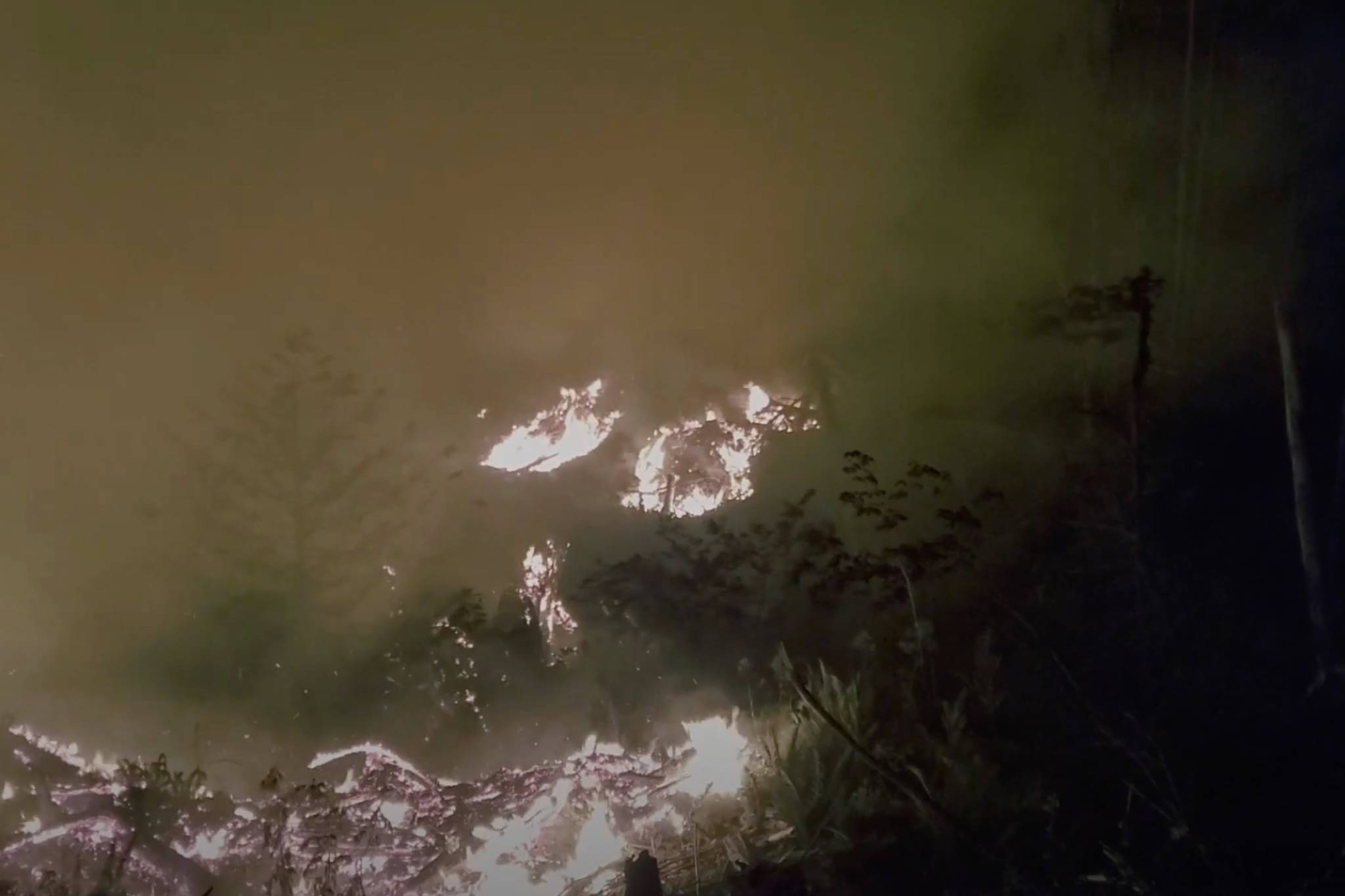 UPDATE: Harrison wildfire currently not a threat to recreation, other structures