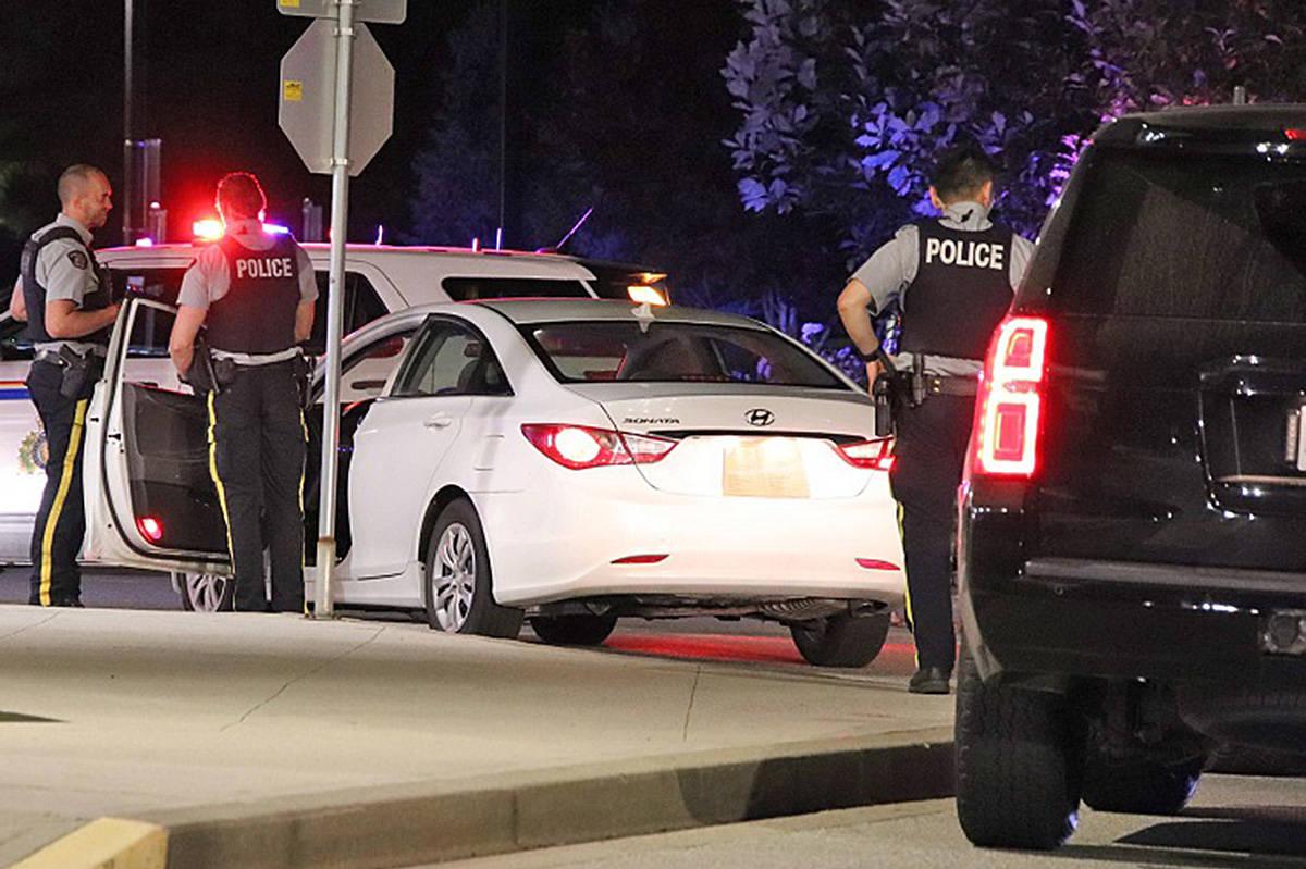 One person suffered gunshot wounds in Maple Ridge Saturday night, Aug. 1, 2020 (Shane MacKichan/special to Maple Ridge News)