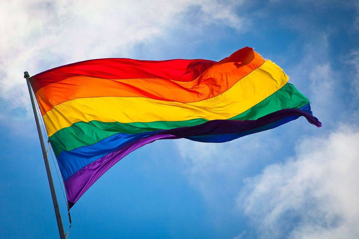 Pride Flag. (Contributed)