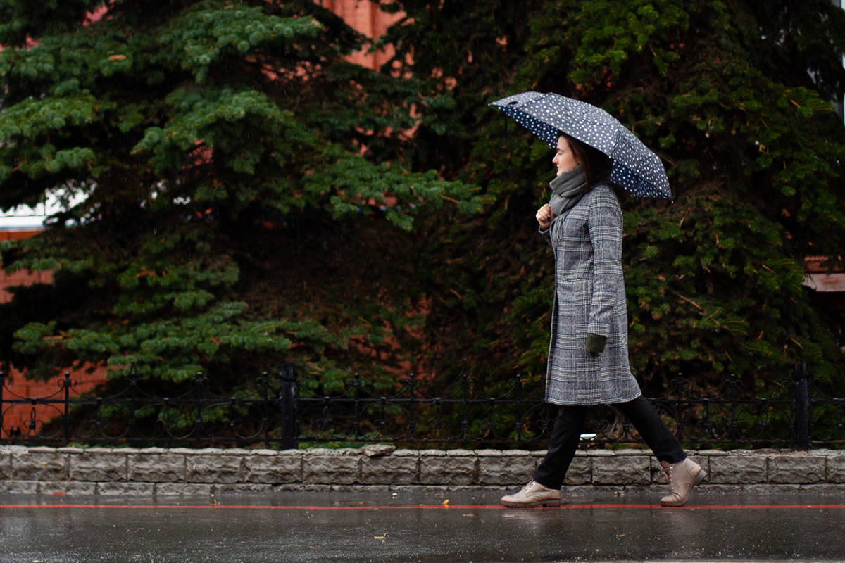 Heavy rain is forecasted to end Thursday morning in Langley, making way for a mix of sun and cloud. (Daria Rem/Special to Langley Advance Times)