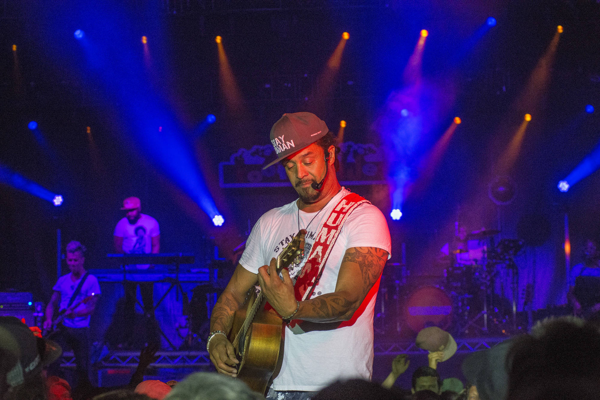 Michael Franti's main stage performance is one of the archived shows which will be streamed for the online 2020 Roots & Blues festival. ( File photo)