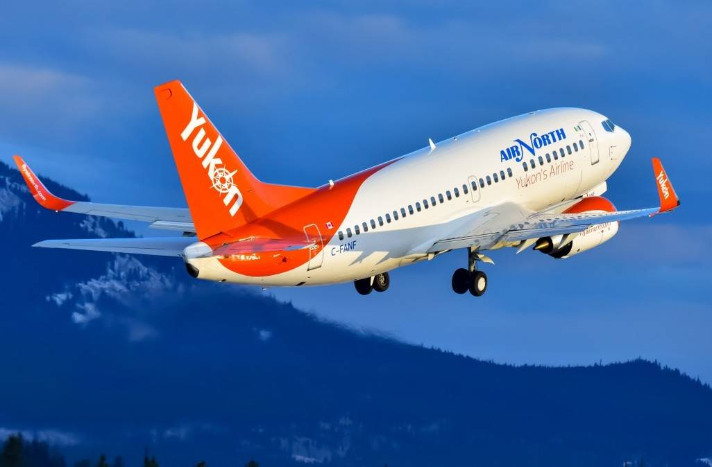 This is the first time Air North has been named Best Airline in Canada by Travellers' Choice. Photo via Air North.