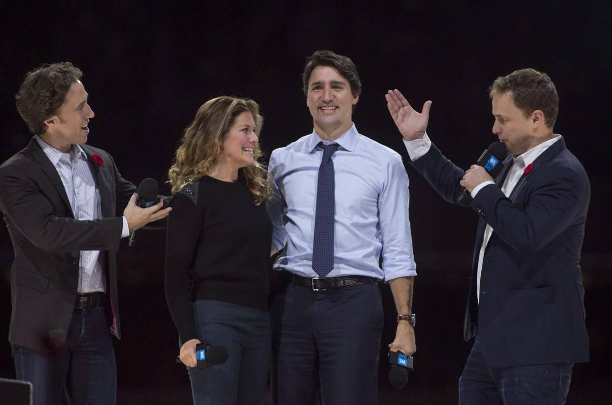Justin Trudeau will answer questions from a House of Commons committee about his connection to WE Charity, in a July 30, 2020 study. (Photo by THE CANADIAN PRESS)