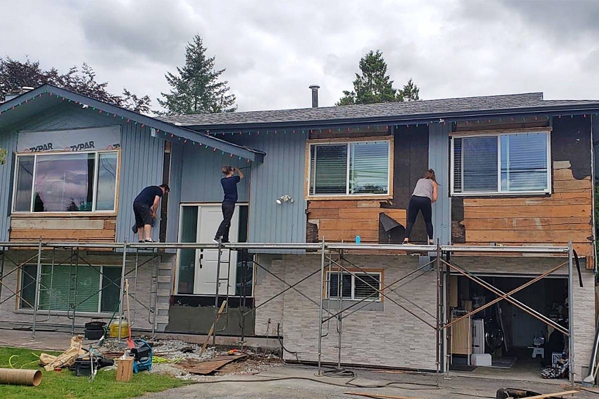 Chris Ellis' family and friends gave his home a makeover while the former RCMP officer was away getting treatment for PTSD. (Submitted)