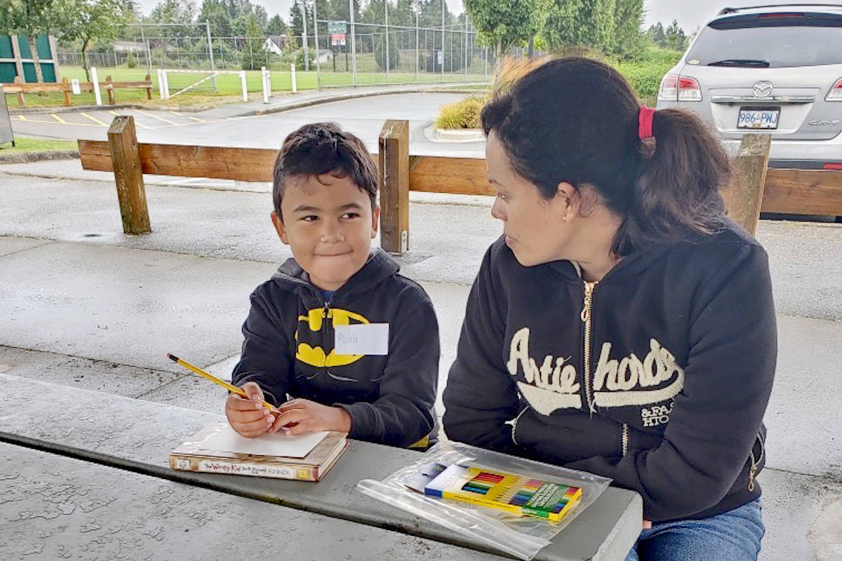 Postcards from kids in Aldergrove to uplift isolated seniors amidst COVID