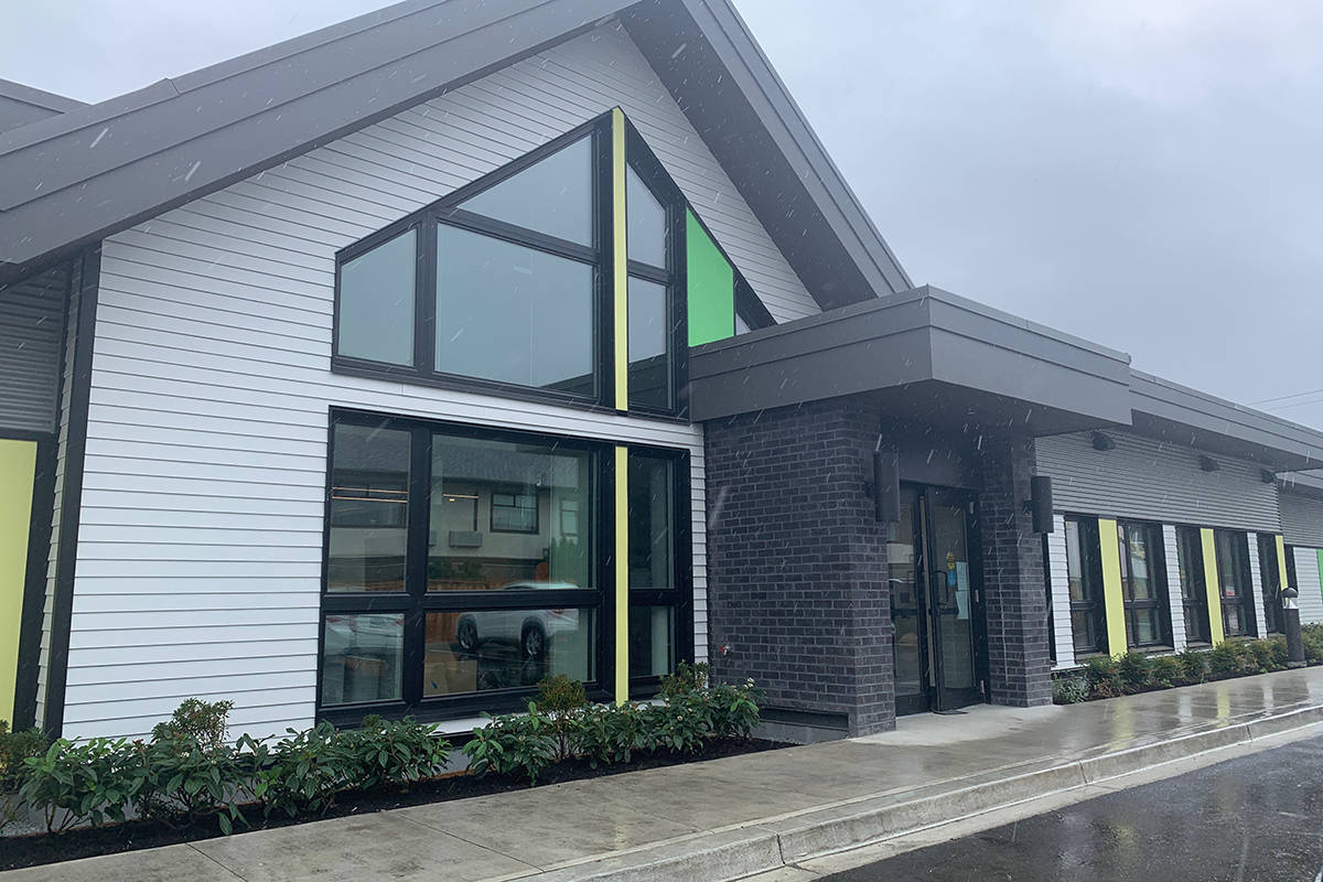 Traverse, a new and unique substance abuse treatment residence for youth, is just about ready to open. It was first announced in 2018, and will be the first of its kind in the Fraser Health region. It has 20 beds, recreational areas and a team of health professionals. Aug. 6, 2020. (Paul Henderson/ The Progress)