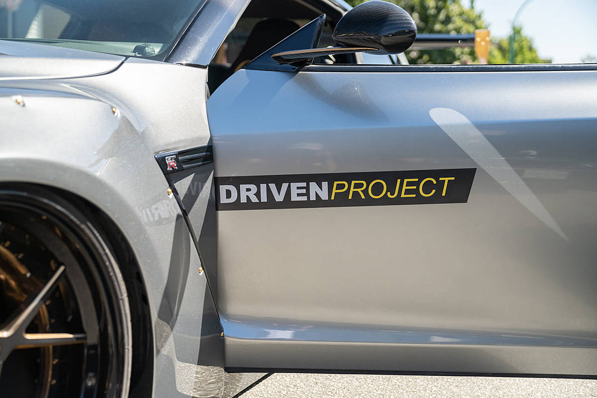 A group of compassionate car lovers make up the Driven Project. This team, accompanied by more than 20 members of the VPD, cruised to Langley on Sunday (Aug. 9, 2020) to visit the residents at Avalon Gardens seniors home in Langley. (Driven Project/Special to Langley Advance Times)