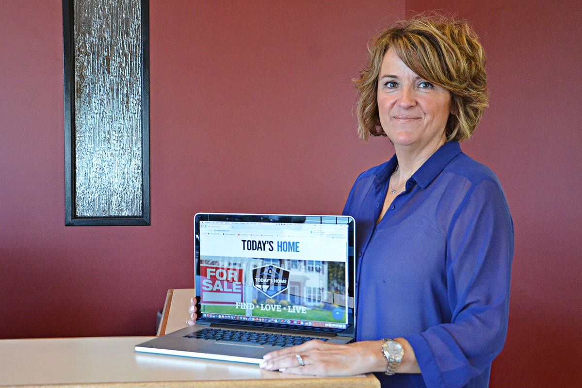 Group publisher Lisa Farquharson has overseen the launch of Today's Home a new online platform from Black Press Media. (Heather Colpitts/Black Press Media)