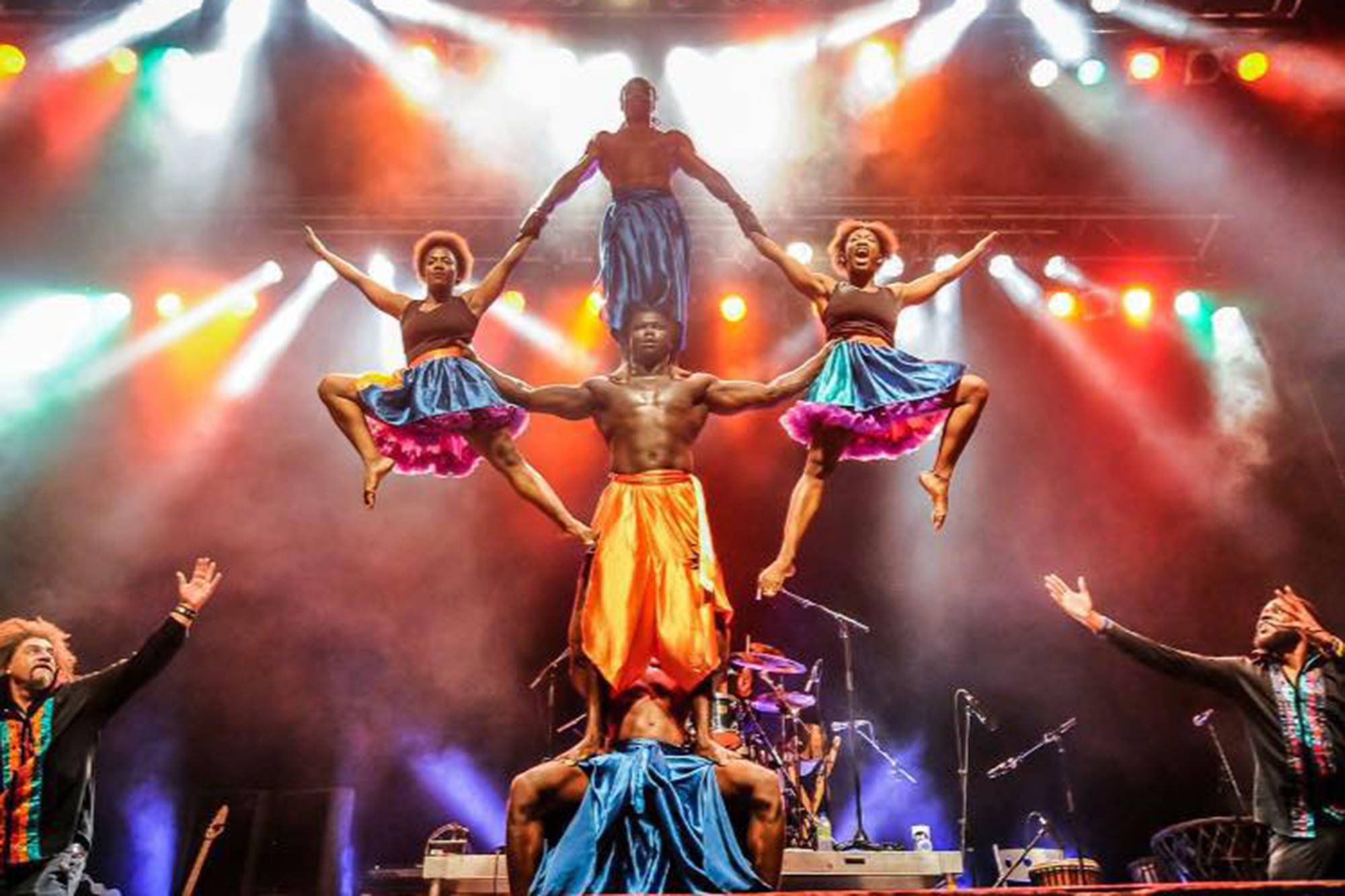 Circus Kalabant�� bring a dazzling display of skill and physical agility to the 28th Annual Roots and Blues Festival, August 13-16. (Contributed)                                Circus Kalabanté bring a dazzling display of skill and physical agility to the 28th Annual Roots and Blues Festival, August 13-16. (Contributed)