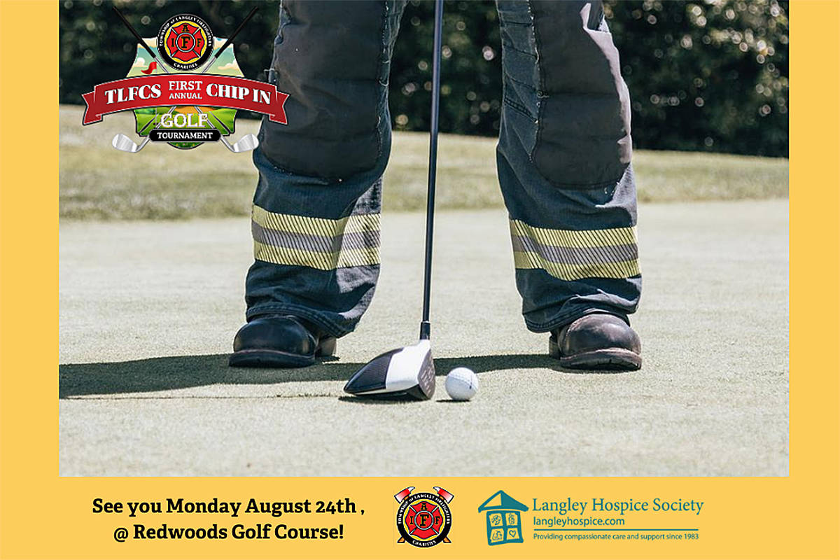 Township of Langley Firefighters' Charitable Society is hosting its first fundraising golf tournament later this month, and they're still looking for players to sign up. (Special to Langley Advance Times)