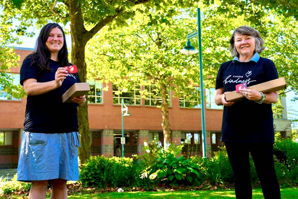 Langley Environmental Partners Society donates $19,000 to feed hungry students
