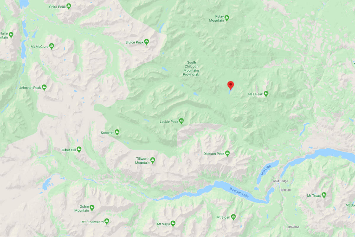 A man was taken to hospital after a grizzly bear attack at Spruce Lake on Sunday, Aug. 16, 2020. (Google Maps)