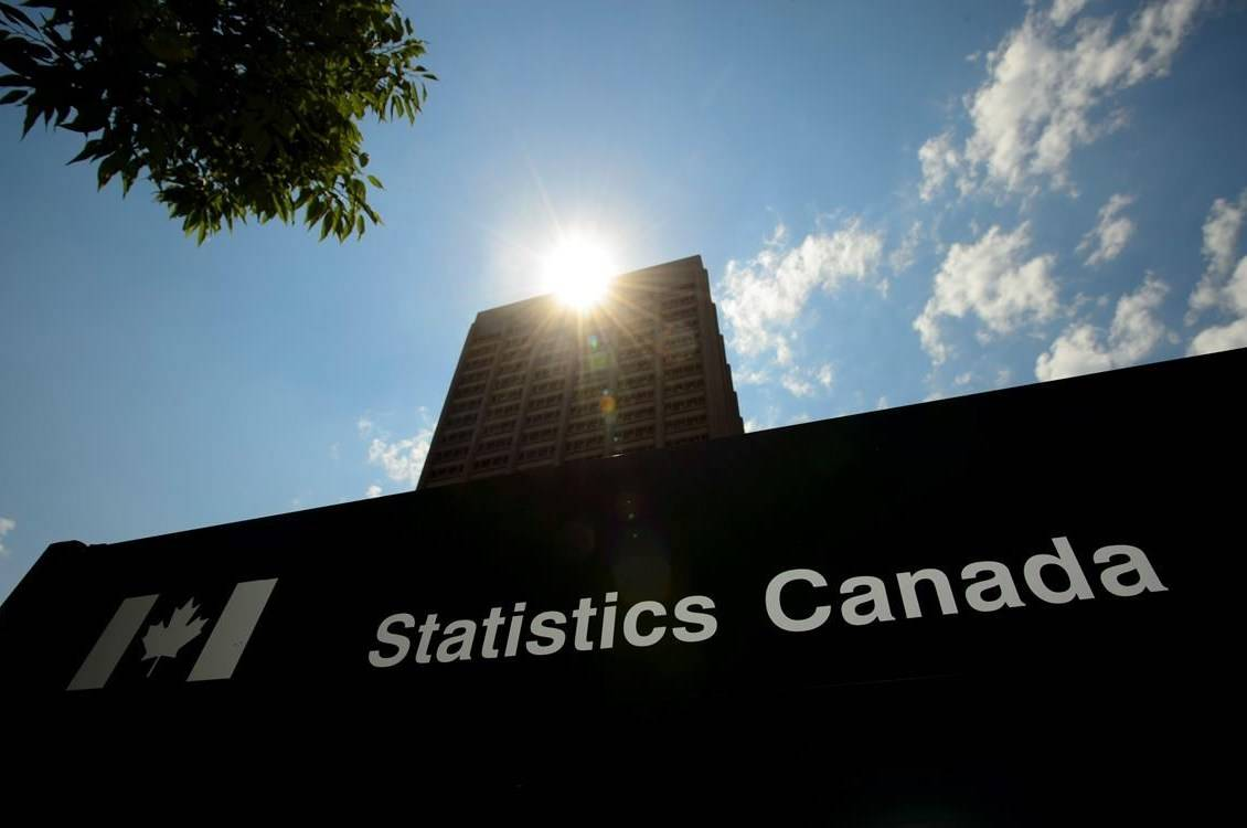 Statistics Canada building and signs are pictured in Ottawa on Wednesday, July 3, 2019. Statistics Canada will say today what the country's inflation barometer read in July. THE CANADIAN PRESS/Sean Kilpatrick