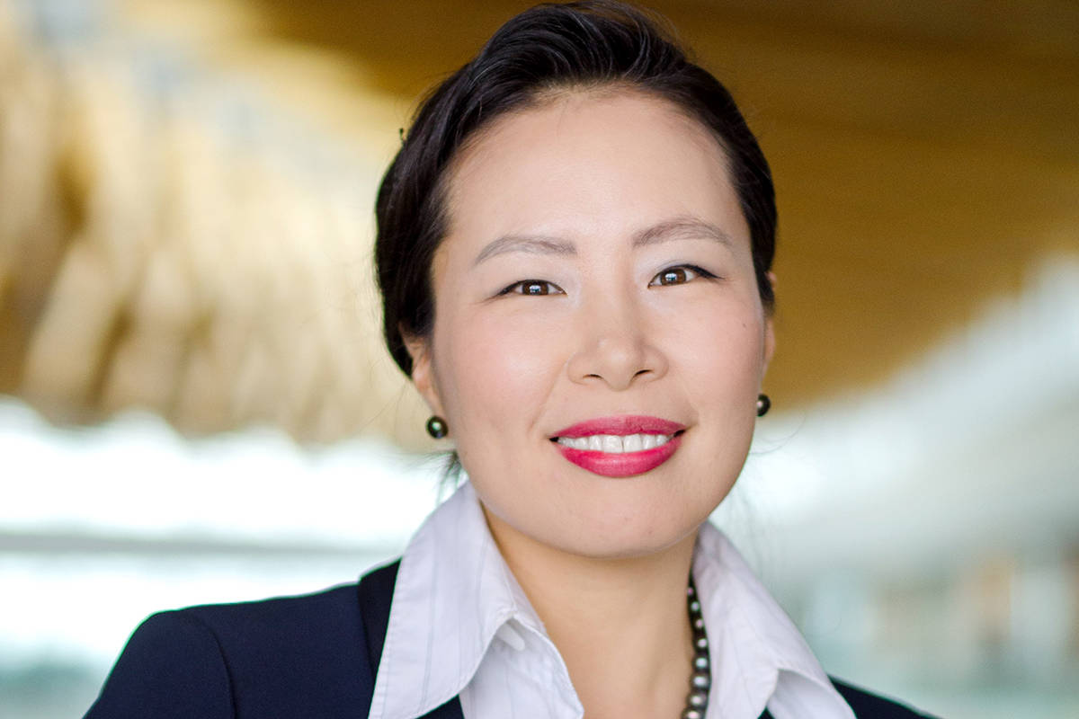 Dr. Victoria Lee, Fraser Health's president and CEO. (Fraser Health/Special to the Langley Advance Times)