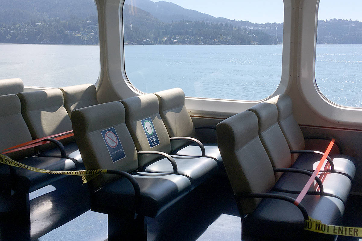 BC Ferries will require all customers to wear masks at terminals and and aboard vessels beginning Monday, Aug. 24. (News Bulletin file photo)