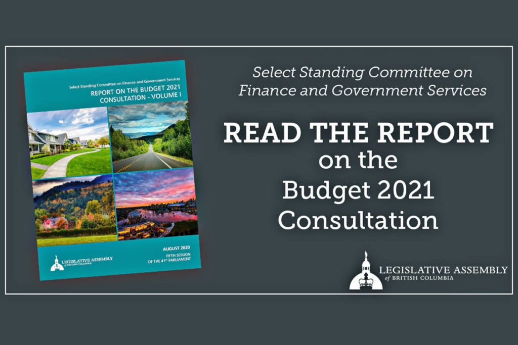 The highest public participation in a decade helped shape the annual provincial budget consultation report. (B.C. government graphic)