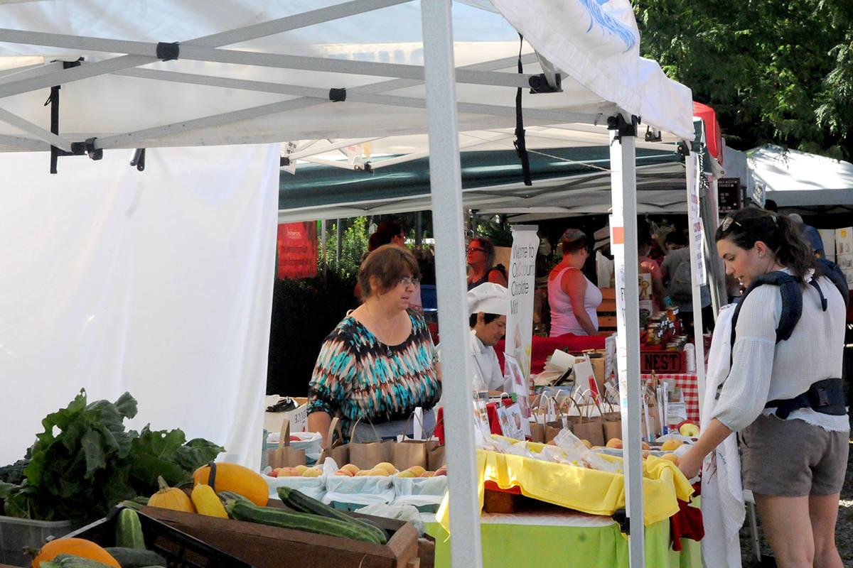 PHOTOS: Fort Langley Farmers Market season is in full swing