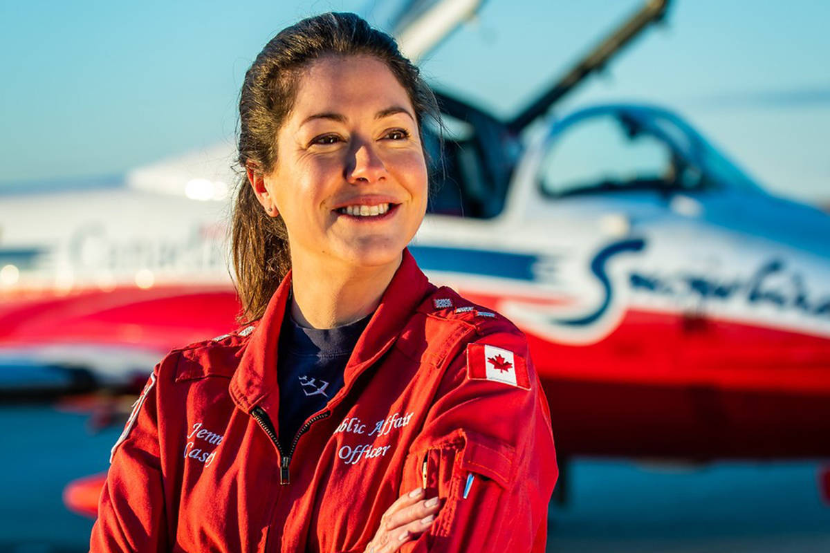 Capt. Jennifer Casey, a Royal Canadian Air Force public relations officer, was killed in a Snowbirds crash in Kamloops on Sunday, May 17, 2020. (RCAF)