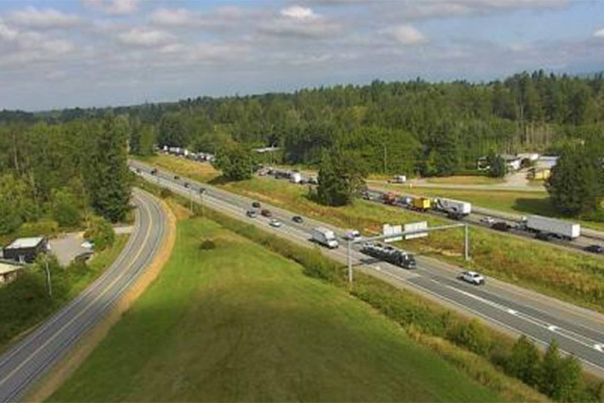 UPDATE: Crews attend another incident westbound Highway 1 in Langley