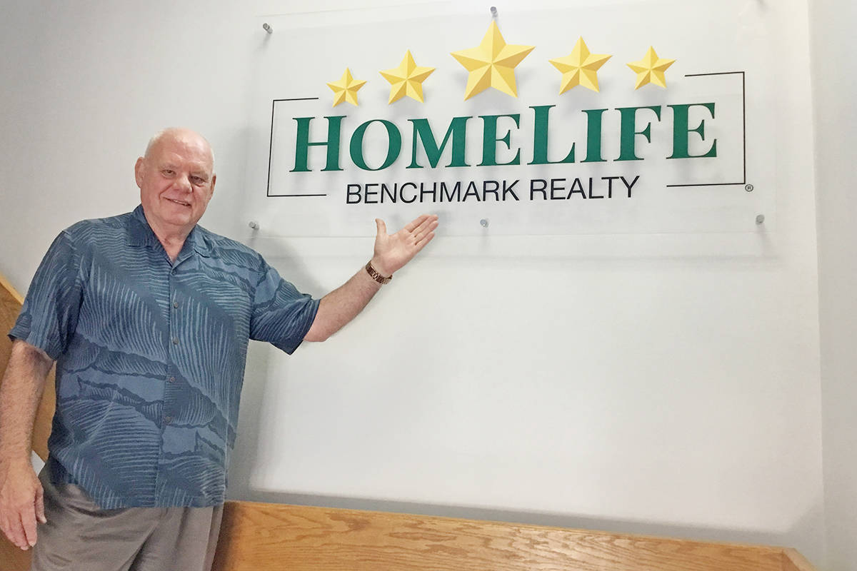 'Every transaction is so important: It's your business, your brand, your way,' says Michael Dreyer, managing broker of Homelife Benchmark Realty in Langley.