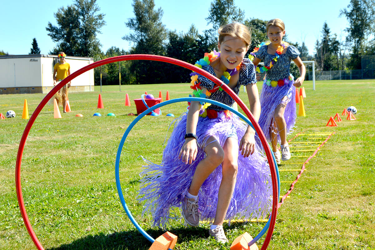 PHOTOS: Shortreed Elementary ends 'grab-and-go' summer service with Hawaiian Luau