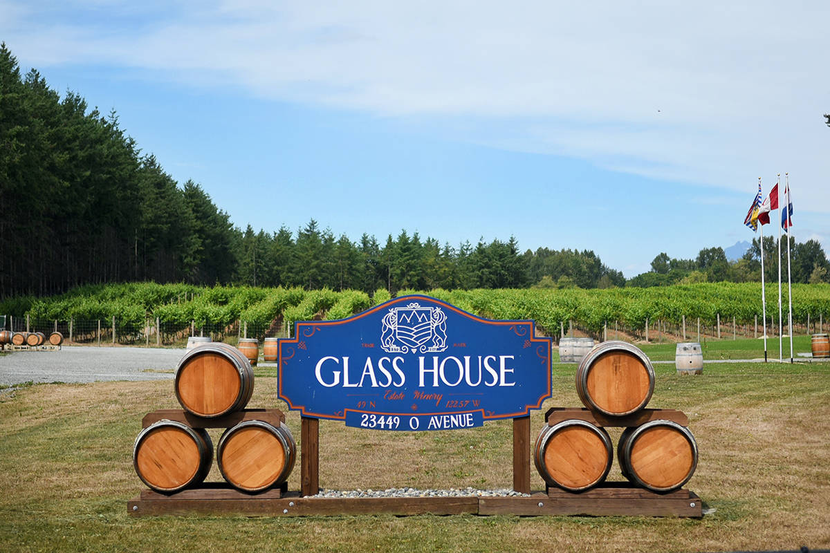 Glass House Estate Winery. Miranda Gathercole/Langley Times.