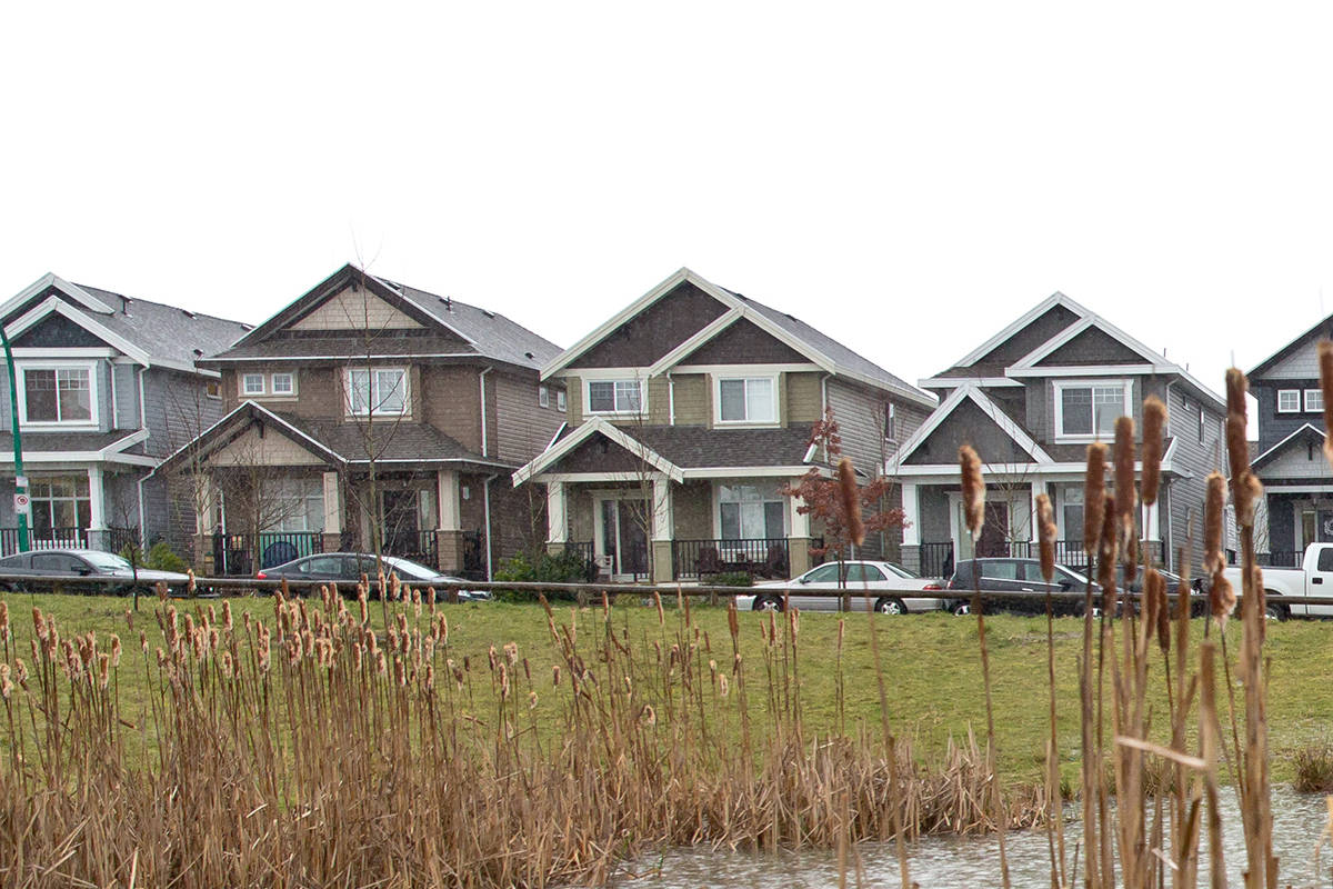 Houses in Surrey. (File photo)