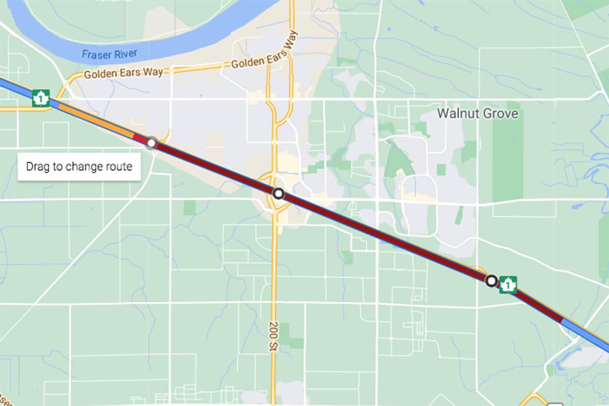 Google Maps screenshot taken at 8:08 a.m