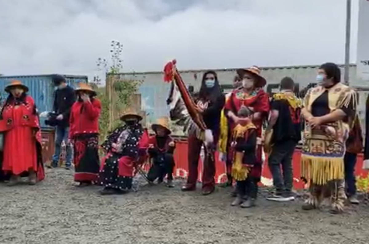 LIVE: Community gathers for monumental totem pole raising along B.C.'s Highway of Tears