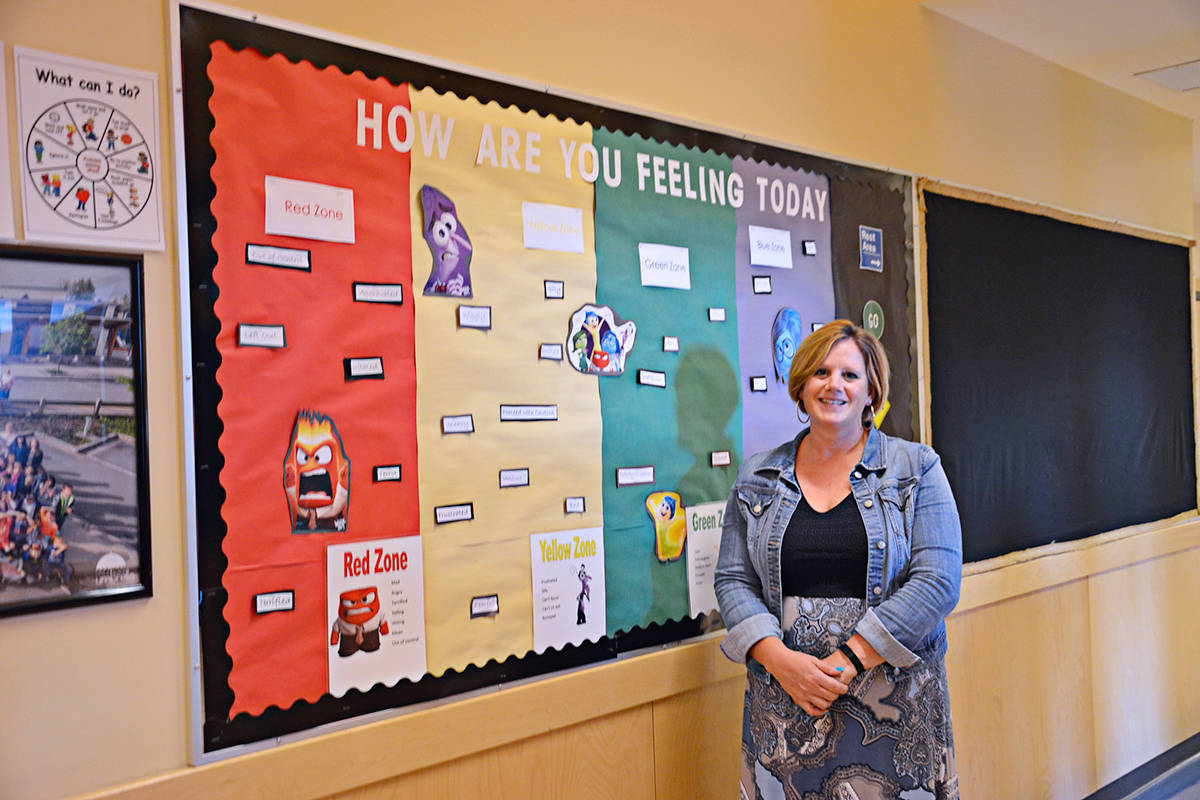 Principal Kim Anderson said staff are ready to welcome students back to Lynn Fripps Elementary starting Sept. 10. (Heather Colpitts/Langley Advance Times)