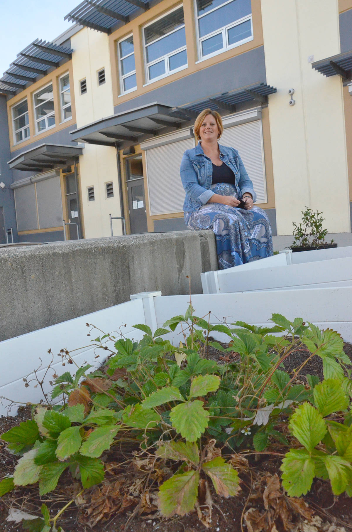 Lynn Fripps Elementary has student gardens. Principal Kim Anderson said the kids will still get to get their hands dirty in the outdoor areas when they return to class. (Heather Colpitts/Langley Advance Times)