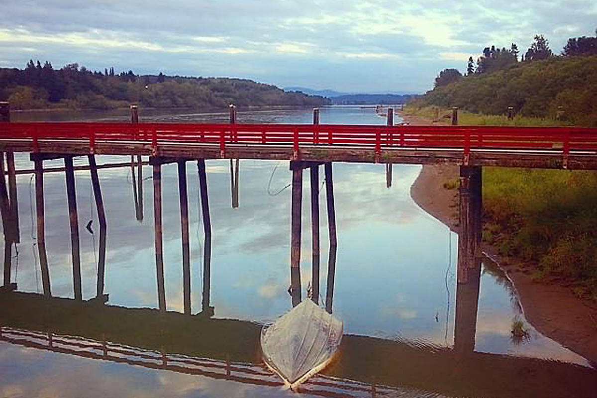 During a recent visit to the old Albion ferry wharf in Fort Langley, Langley's Melissa Carson captured a few pictures. (Special to Langley Advance Times)
