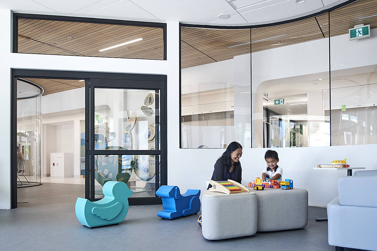 The new Sunny Hill Health Centre for children opened in Vancouver last week, in large part thanks to the generosity of a Langley philanthropist. (B.C. Children's Hospital/Special to Langley Advance Times)