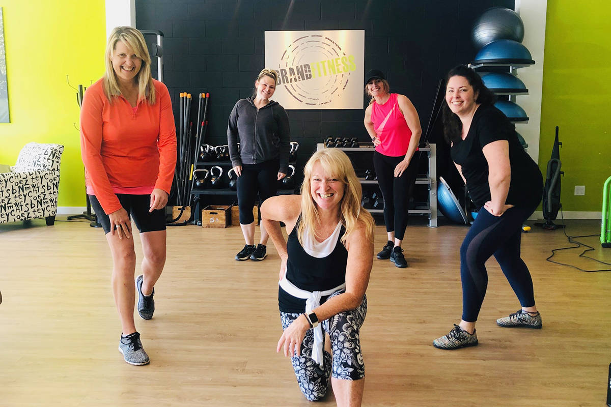 The trainers at Langley's Brand Fitness are ready to welcome you back!