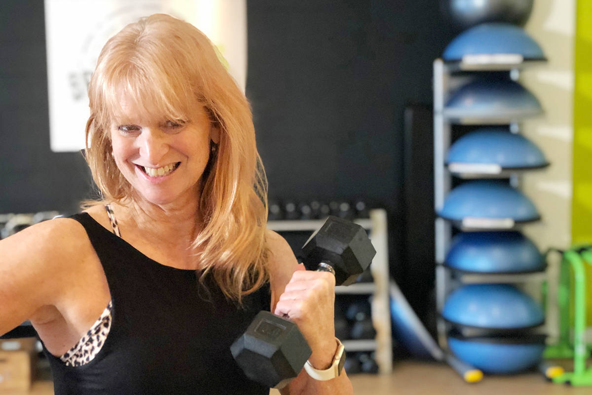 """""""We know exercise is so important to people's overall health and well-being, physical, mentally and emotionally,"""" says Marion Brand, owner and instructor of Brand Fitness."""