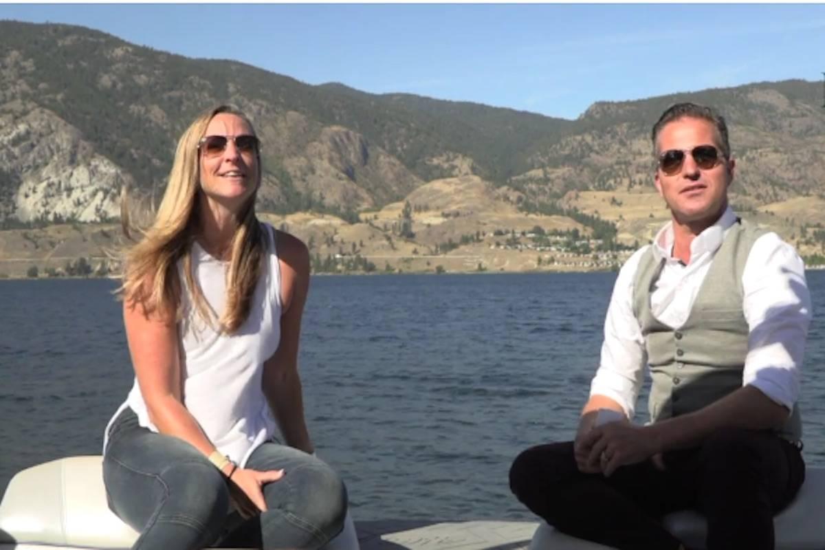 Kim Larson and Mario Gedicke